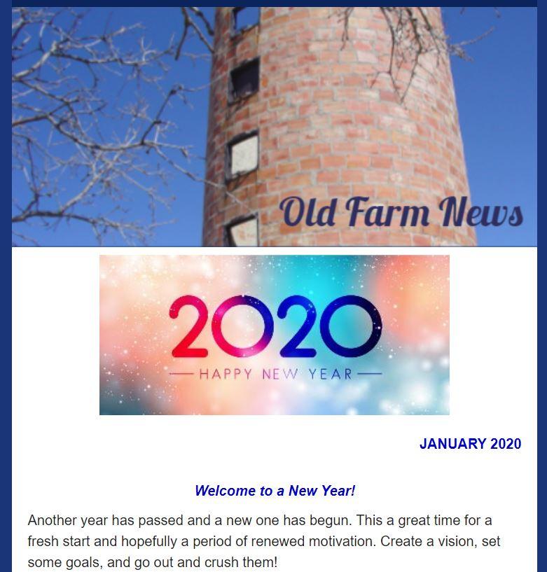 Old Farm E-newsletter